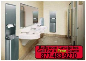 Discount Commercial Bathroom Lavatories For Sale