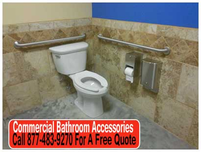 Commercial Bathroom Accessories Including Toilet Paper Dispensers, Partitions, Sinks & More!
