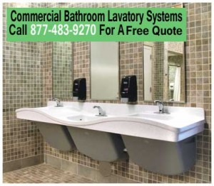 Commercial Bathroom Lavatory Systems For Sale Factory Direct