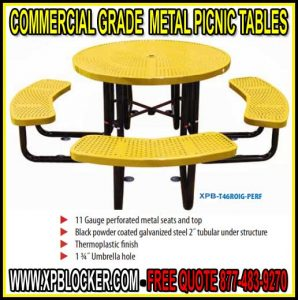 Commercial Grade Metal Picnic Tables For Sale Factory Direct Prices Means Lowest Price Guaranteed
