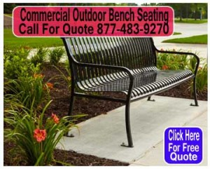 Commercial-Outdoor-Bench-Seating