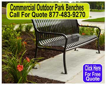 Wholesale Commercial Outdoor Park Benches For Sale Direct From The Manufacturer Means Guarantees Lowest Price