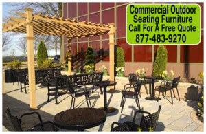 Commercial Outside Seating Furniture For Sale Direct From The Factory