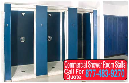 Commercial Shower Room Stalls Designed To Maximize Space XPB New Bathroom Stalls Design