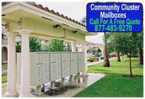 Discount Community Cluster Mailboxes On Sale Now Direct From The Manufacturer Saves You Money Today!
