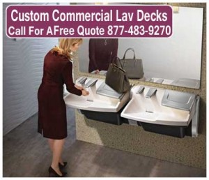Custom-Commercial-Lav-Decks