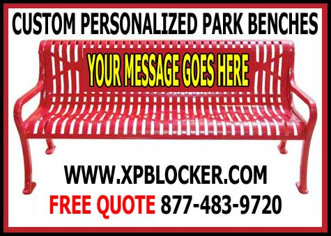 Discount Custom Personalized Park Benches For Sale - Cheap Manufacturer Direct Wholesale Prices