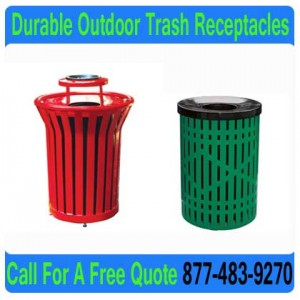 Durable-Outdoor-Trash-Receptacles