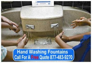 Industrial Hand Washing Fountains For Sale