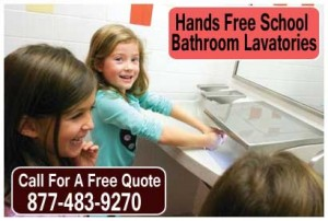 Hands Free School Bathroom Lavatories & Sinks For Sale Manufacturer Direct