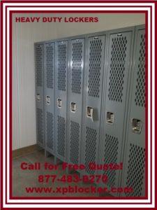Lockers with Vented Mesh Doors