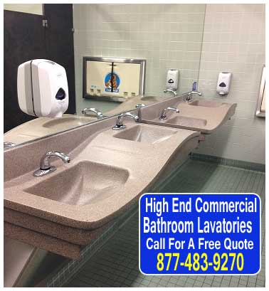 DIY ADA Approved AHigh End Commercial Bathroom Lavatories For Sale Direct From The Factory