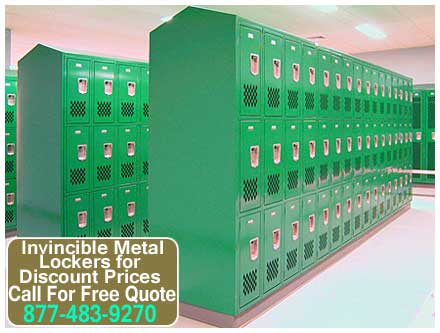 Vented Metal Storage Lockers For Sale Direct From The Manufacturer