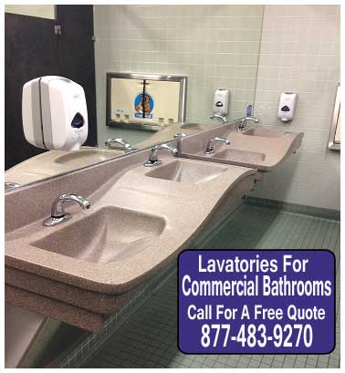 Do It Yourself Lavatories For Commercial Restrooms For Sale Direct From The Manufacturer Discounted Prices