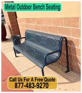Metal-Outdoor-Bench-Seating