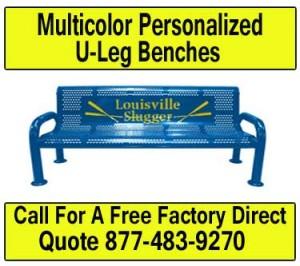 Multi-Color-Personalized-U-Leg-Benches