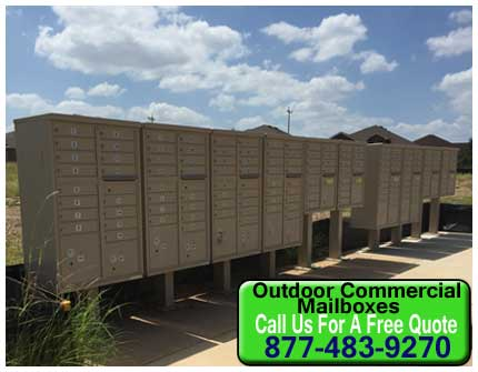 Outdoor Commercial Mailboxes For Sale Direct From The Factory Prices Saves You Money Today!