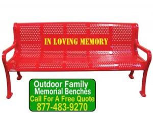 Outdoor-Family-Memorial-Benches