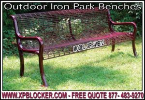 Wholesale Outdoor Plastic Coated Park Benches For Sale Direct From The Factory Saves You Time & Money