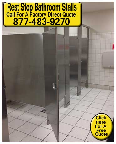 Rest Stop Bathroom Stalls For Commercial Facilities For Sale Direct From  The Manufacturer Means Wholesale Prices