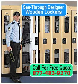 Wholesale See Through Designer Wooden Security Lockers For Sale Direct From The Manufacturer Mean Lowest Price