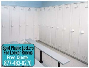 Solid-Plastic Lockers For-Locker Rooms For Sale Direct From The Factory Means Guaranteed Low Price & Quick Shipping