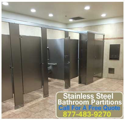 Discount Stainless Steel Bathroom Partitions For Sale Direct From The Manufacturer Saves You Money Today!