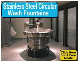 Stainless-Steel-Circular-Wash-Fountains