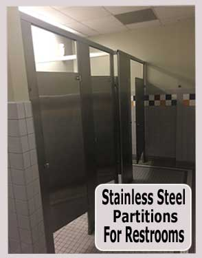 Discount Stainless Steel Restroom Partitions For Sale Direct From The Manufacturer Saves You Money Today!