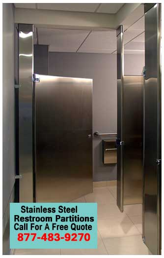 Wholesale Stainless Steel Restroom Partitions Quick Ship Direct From The Factory Saves You Time & Money