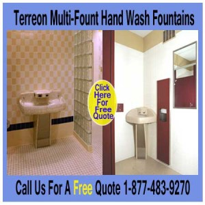 Commercial Multi-User Industrial Fountain Hand Wash Fountains For Sale