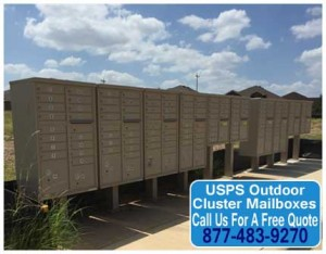 Commercial Grade USPS Outdoor Cluster Mailboxes For Sale Direct From The Manufacturer
