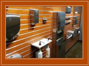 Toilet Room Accessories for Public Restrooms