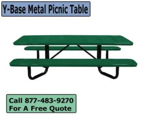 Y-Base-Metal-Picnic-Table