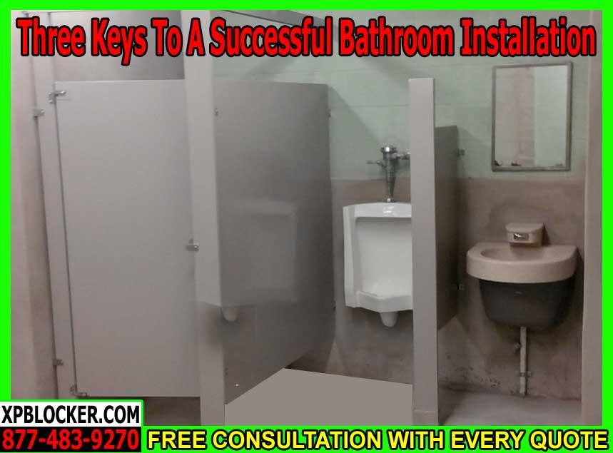 Commercial Bathroom Installaiton