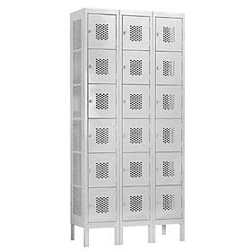 Discount Box Vented Steel Storage Lockers For Sale Direct From The Factory Means Lowest Prices Guaranteed!