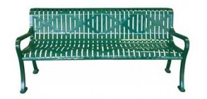 Commercial Outdoor Metal Roll Formed Park Benches For Sale Factory Direct Saves You Money Today!