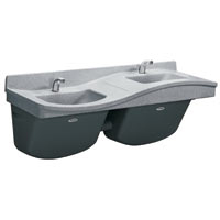 Discount Frequency Two Station Lavatory & Sinks For Sale