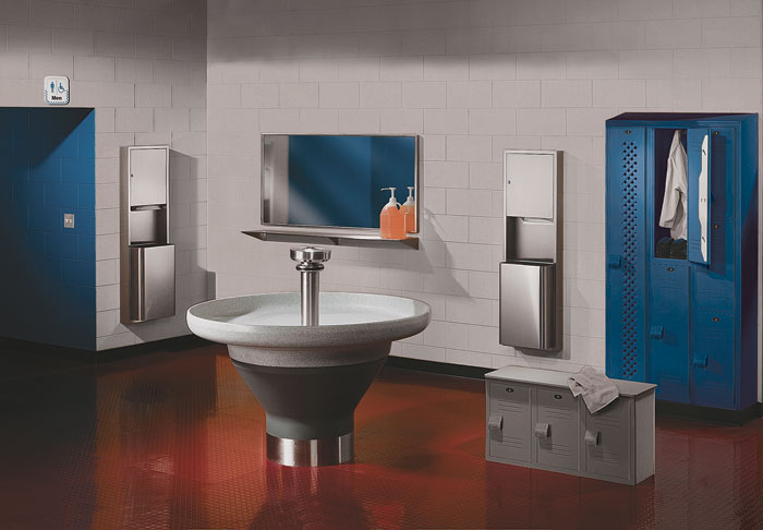 Multi-Station Wash Fountains