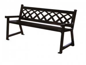 Discount Commercial Outdoor Oudoor Sawgrass Metal Garden Benches For Sale Factory Direct Guarantees Lowest Price