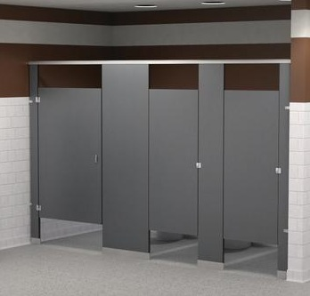 Commercial bathroom partitions designed for multi user - Commercial bathroom code requirements ...