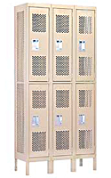 Discount Vented Metal Locker Room Lockers For Sale Direct From The Factory Guarantee's The Lowest Price