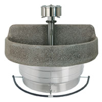 Wholesale Terrazzo Wash Fountains On Sale For Commercial Restrooms Direct From The Factory Guarantees Lowest Prices