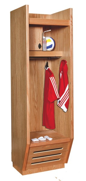 Wooden Sports Lockers For Colleges Universities And High